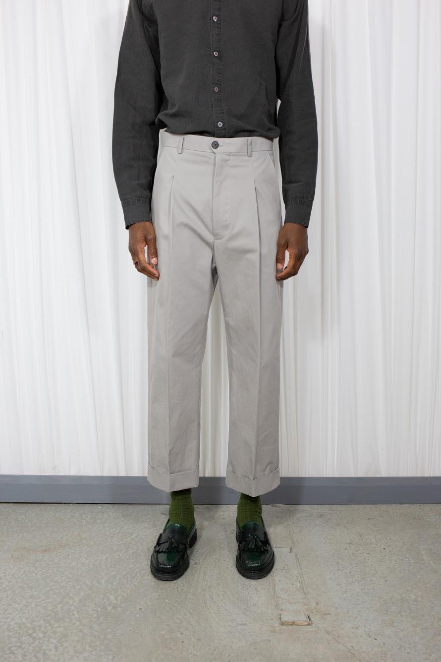 bottoms mens grey