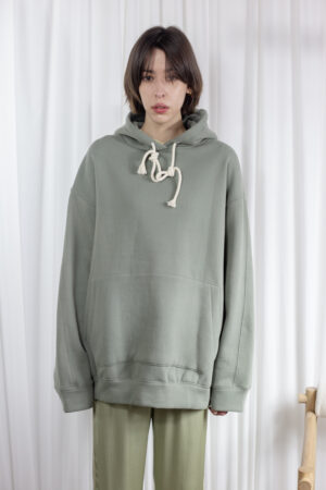 Oversized Drop Shoulder Hoodie @ not just another store