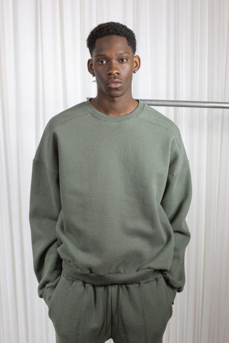 From Scratch men's sweatshirt green