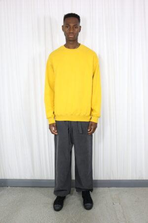 Yellow Mens Sweatshirt