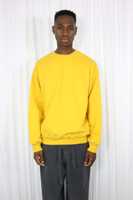 Yellow Mens Sweatshirt