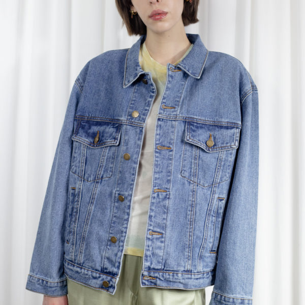 Angelo Women's Denim Oversized Jacket
