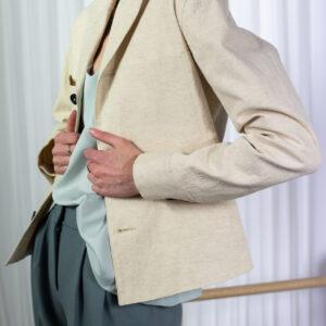 Wonderound Newman Work Jacket Ivory
