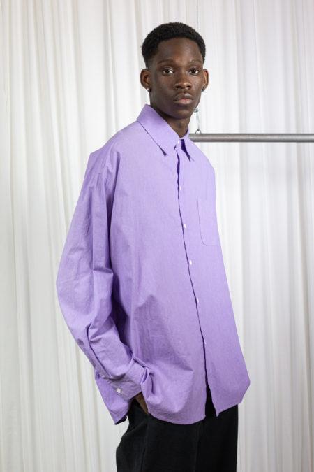 Promise Land oversized Shirt Purple
