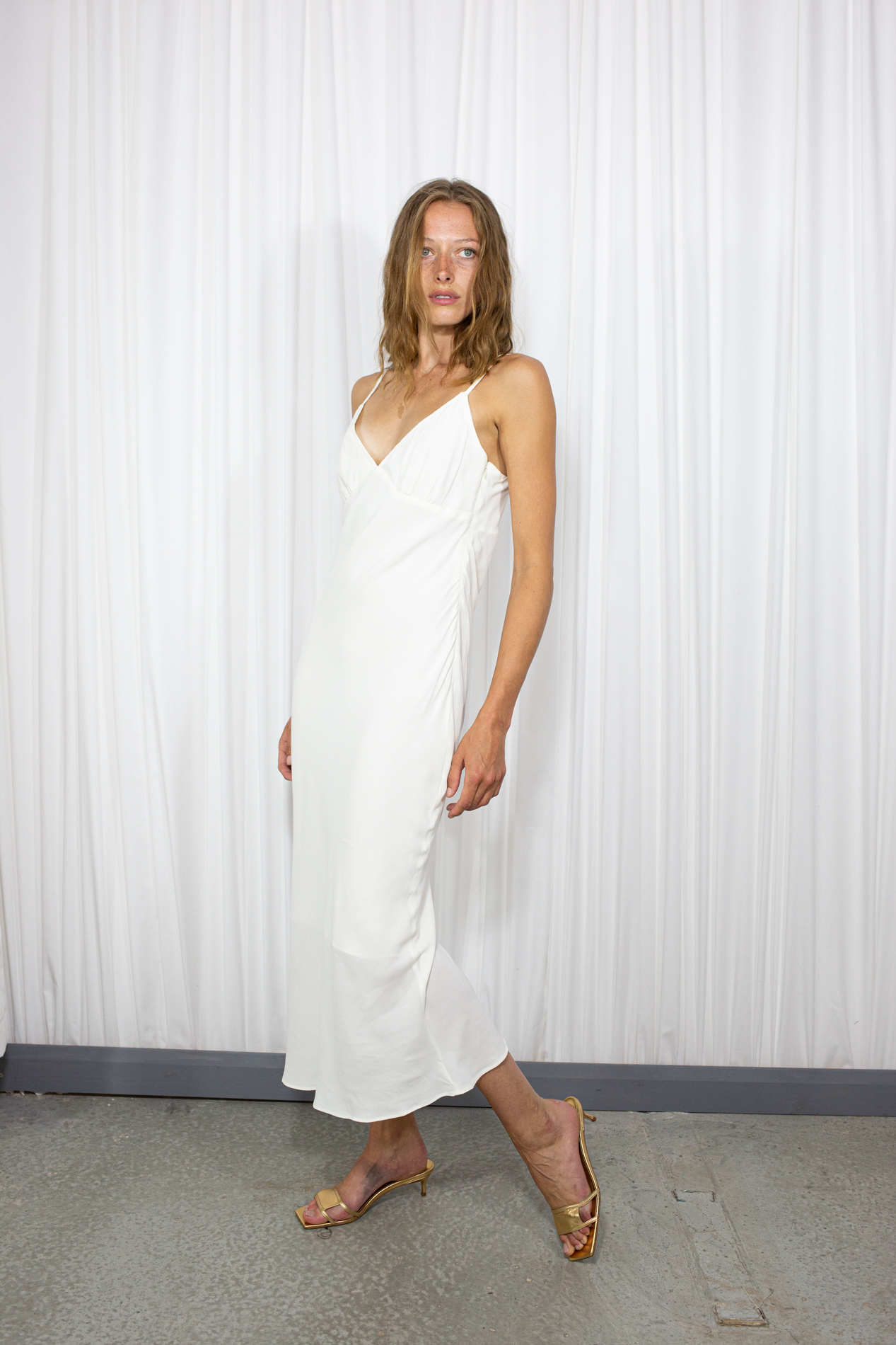 Lay Slip Dress by 101 moon