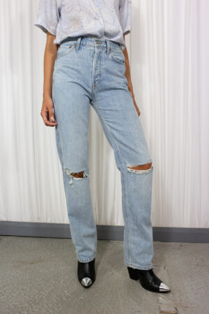 RedOne Original High Rise Ripped Jeans