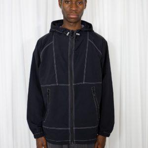 Stitch Hood Jacket Black