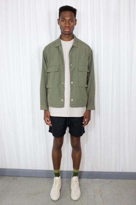 Nylon Pocket Jacket