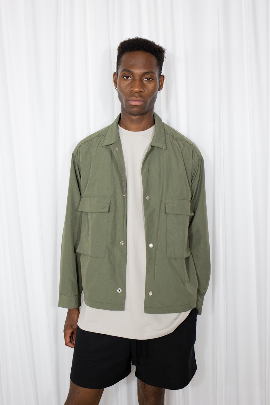 Nylon Pocket Jacket