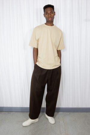 Howell Boxy Beige T-shirt