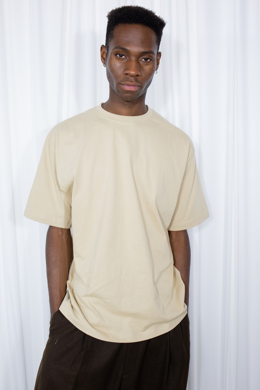 Howell Boxy Beige T-shirt