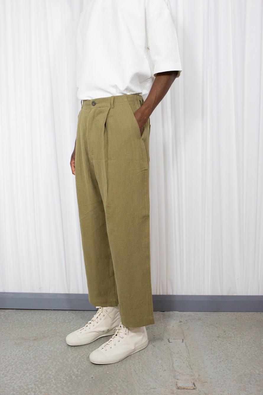 Linen Balloon Pants