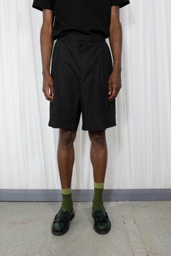 Wide Shorts Black