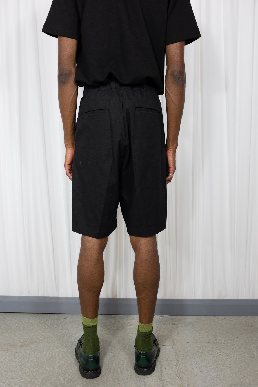 Wide Shorts Black
