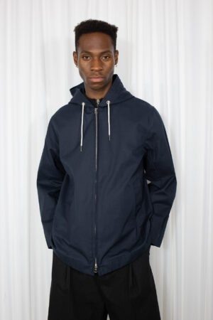Zip-up Parka Navy