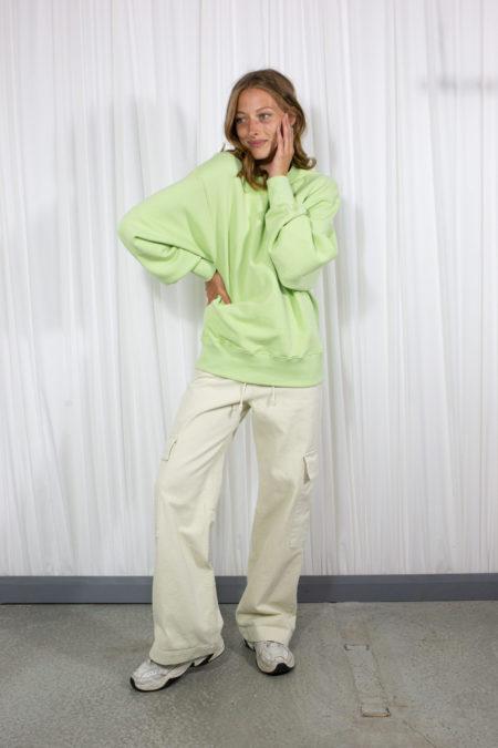 L'art Muse Sweatshirt Light Green