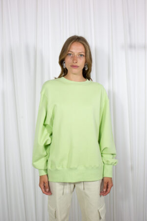 L'art Muse Sweatshirt Light Green