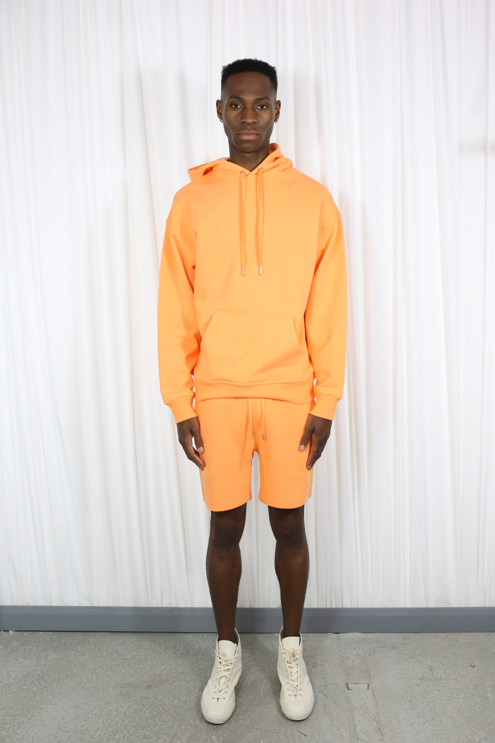 Basic Orange Hoodie