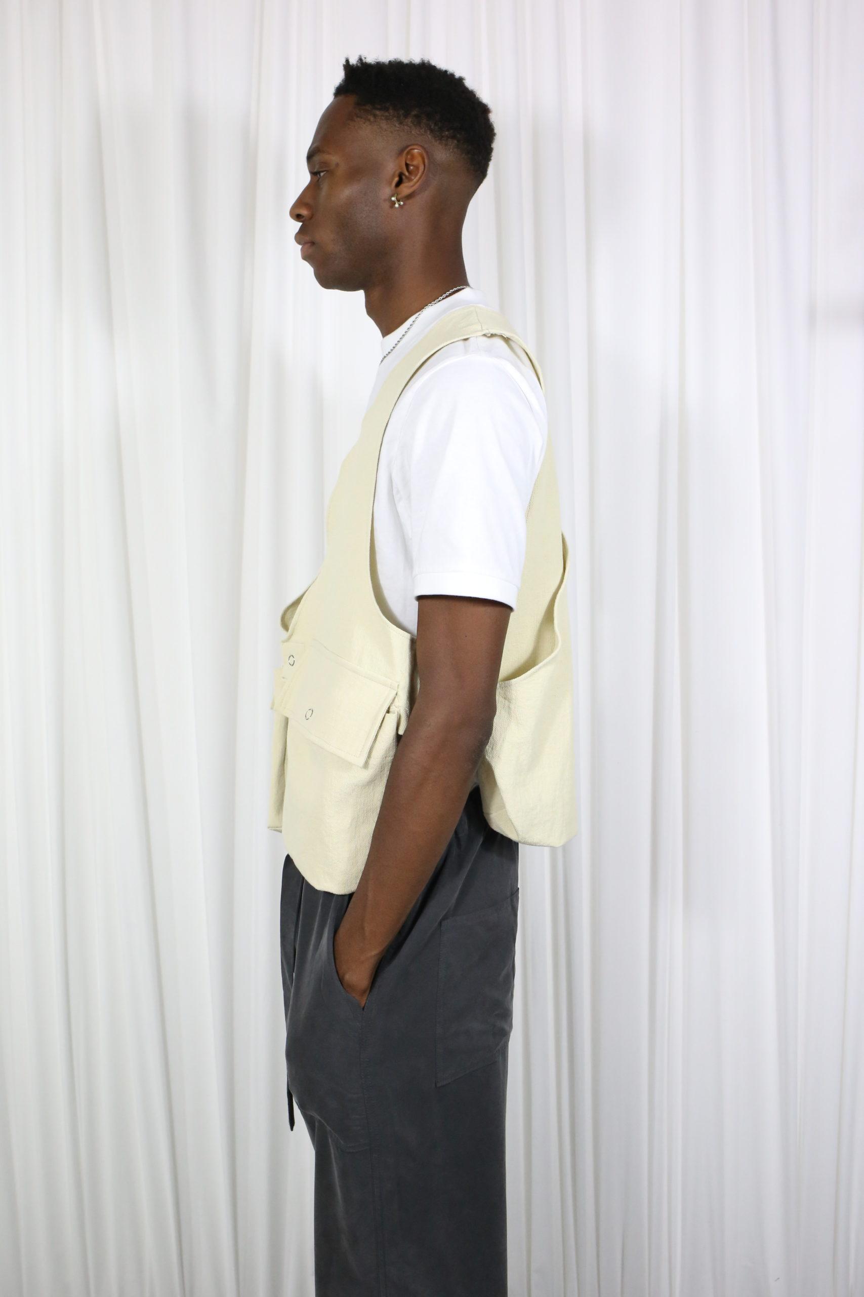 Linen Muse Vest