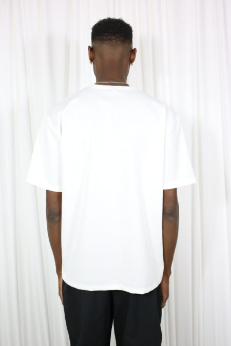 Basic white organic T-shirt