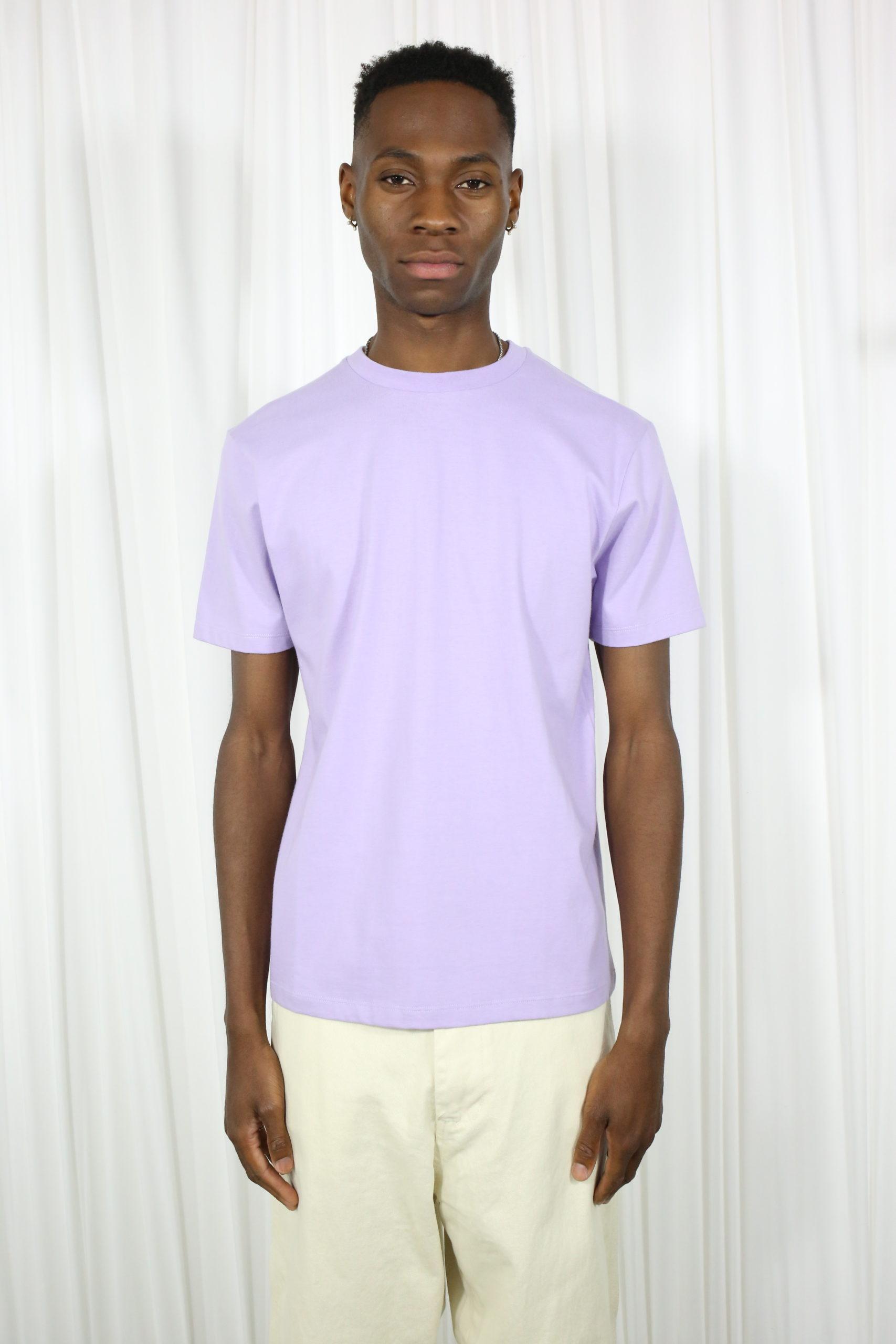 Basic Purple organic T-shirt