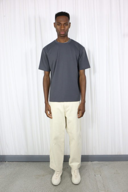 Basic Charcoal organic T-shirt