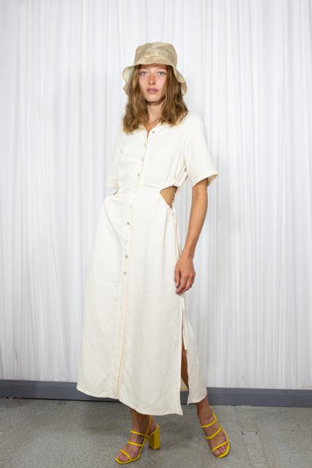 Moa Dress in Cream by L'art