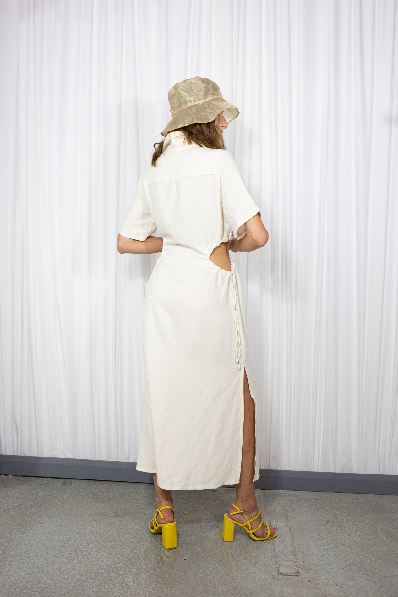 Moa Dress in Cream by L'art