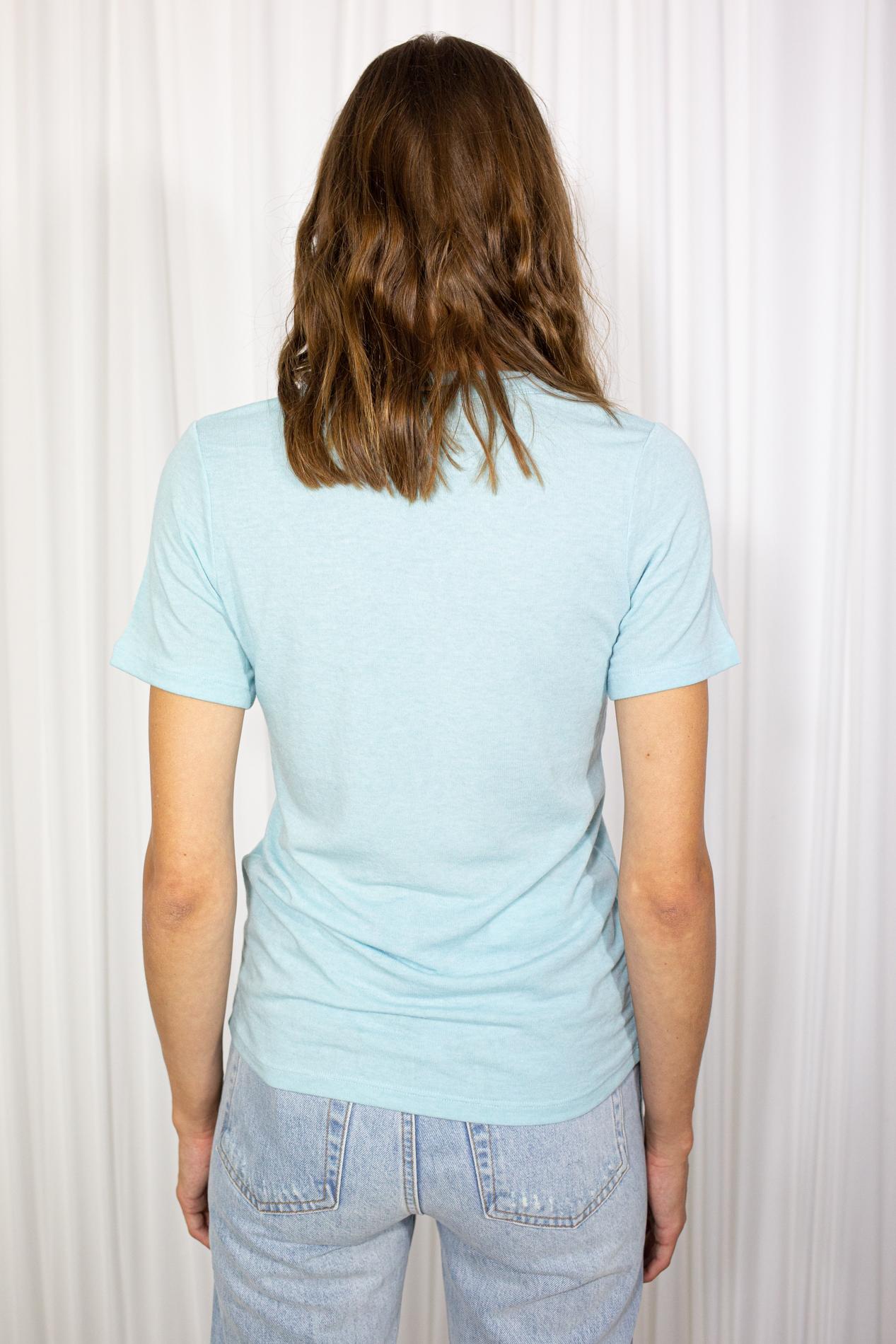 No Promise Bunny T-shirt Blue