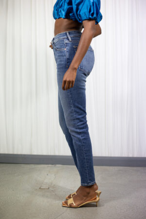 ReDone High Rise Ankle Crop