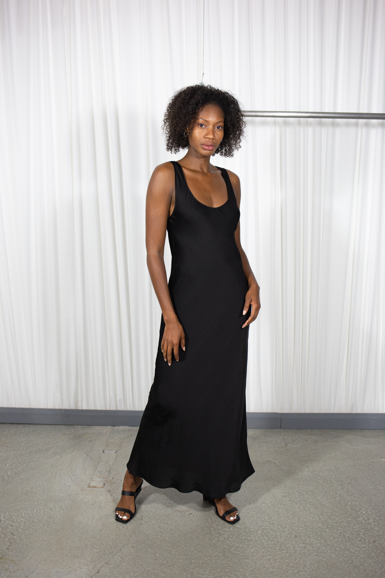 Rowell Dress in Black by Statement