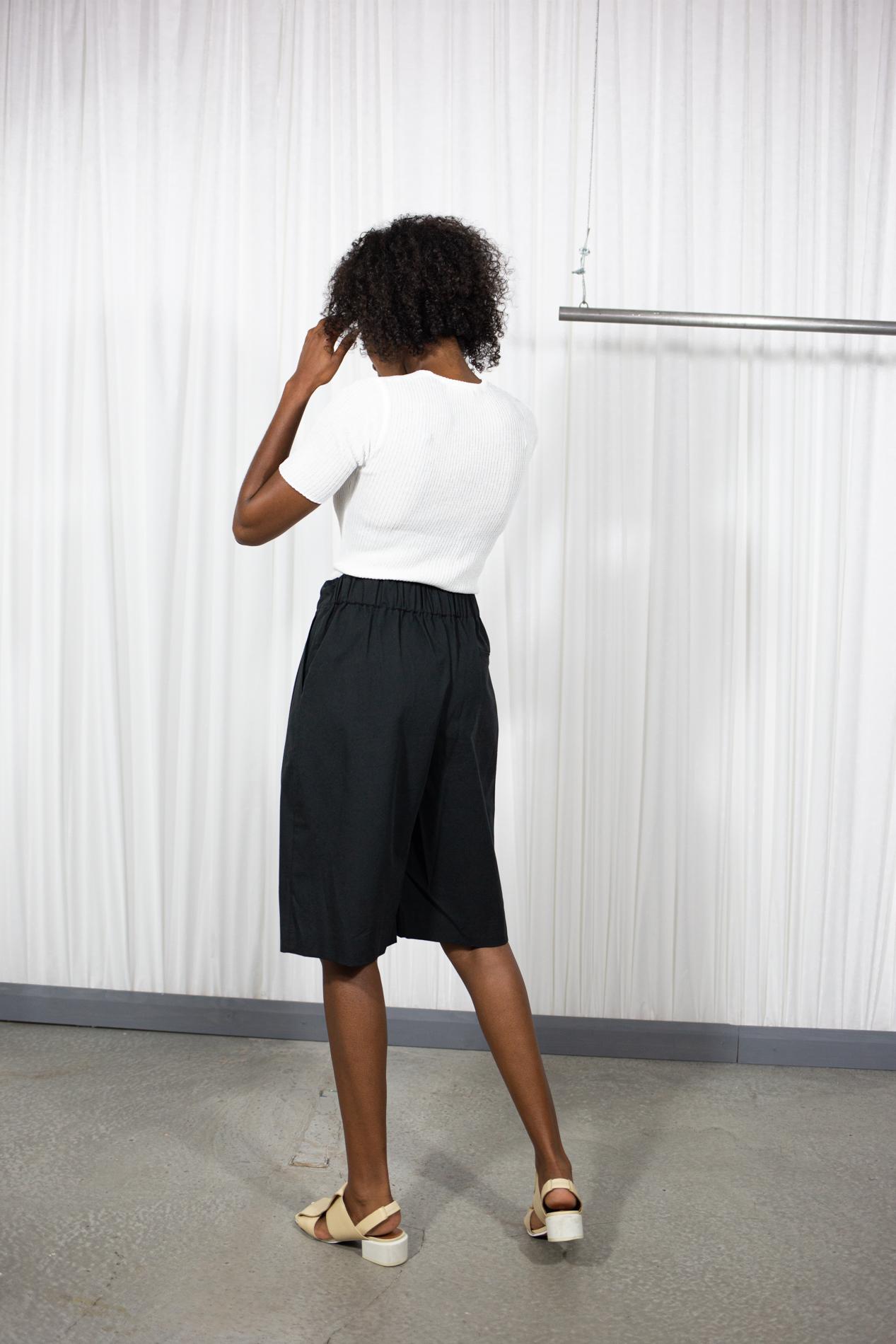 Table Free Short Pants Black