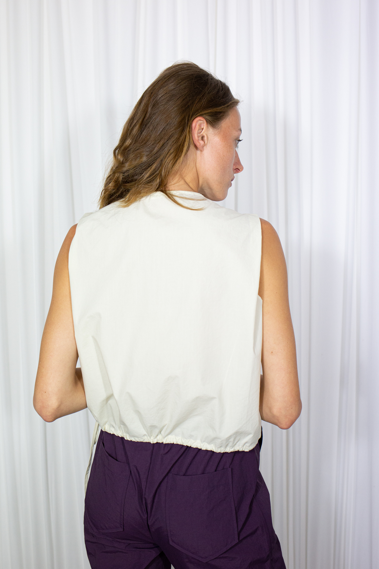 Lime Vest Cream by Table