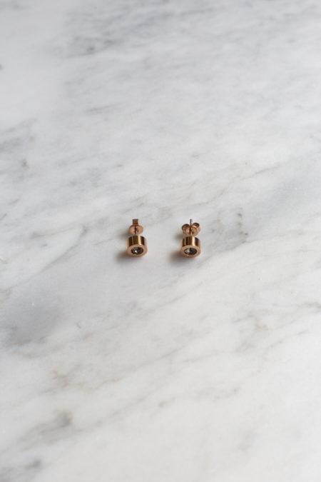 Grace Earrings Rose Gold