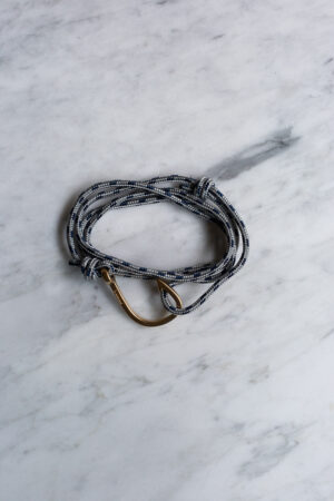 Hook On Rope Grey/Gold