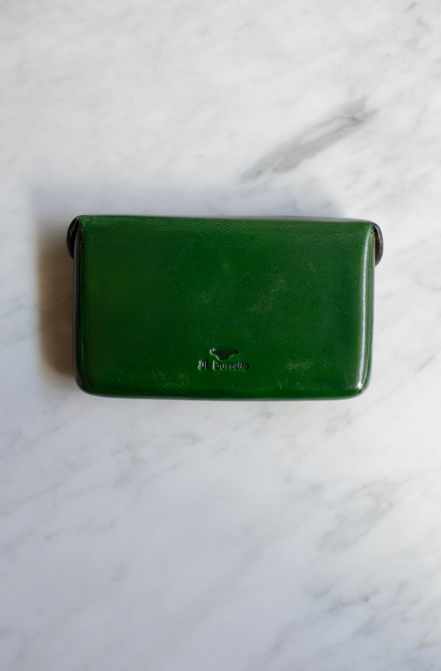 Magnetic Card Holder Green