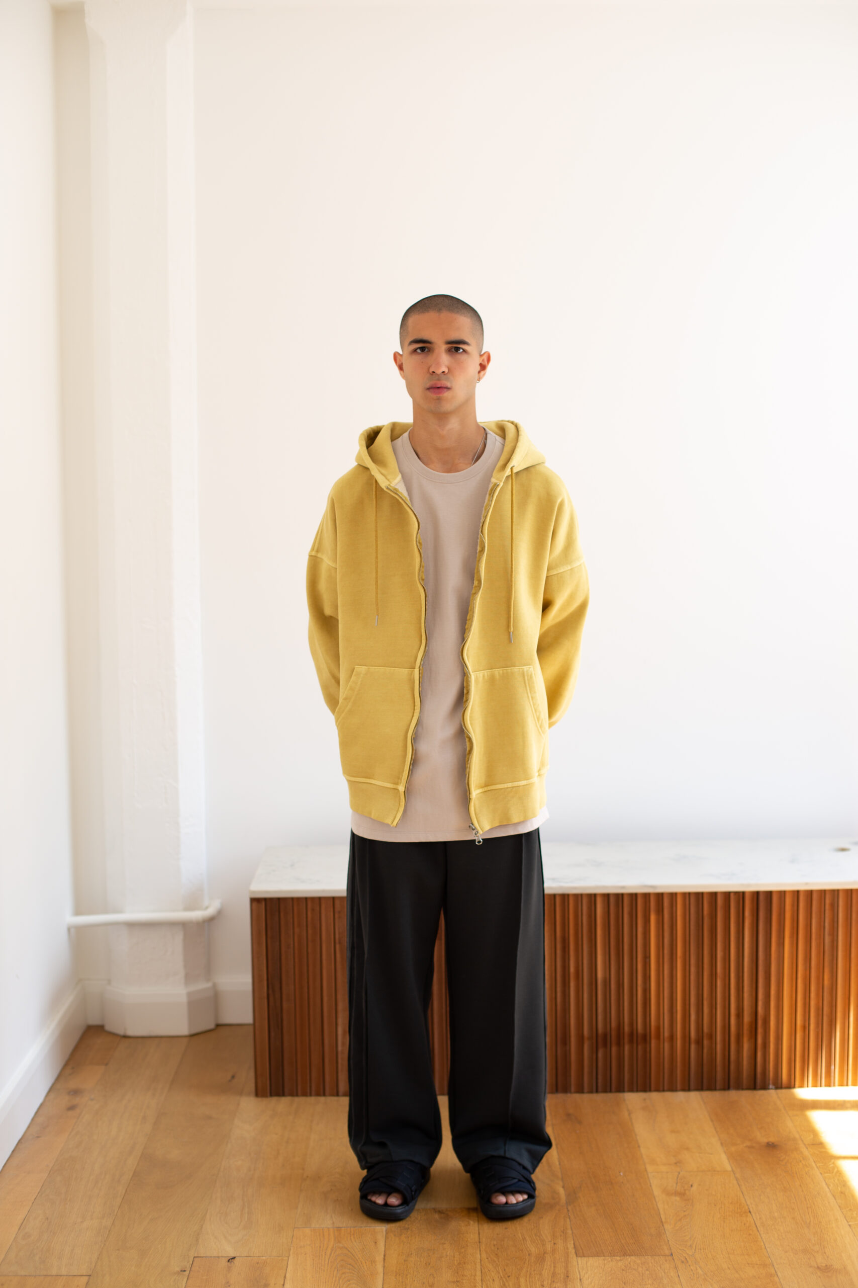 Yellow Promise Land Essential Hoodie