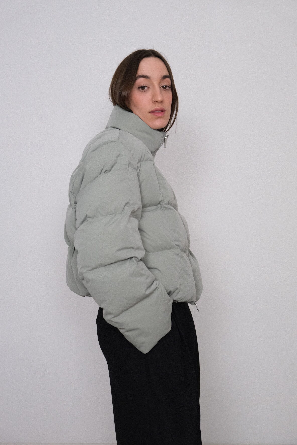 Table Puffa in Mint