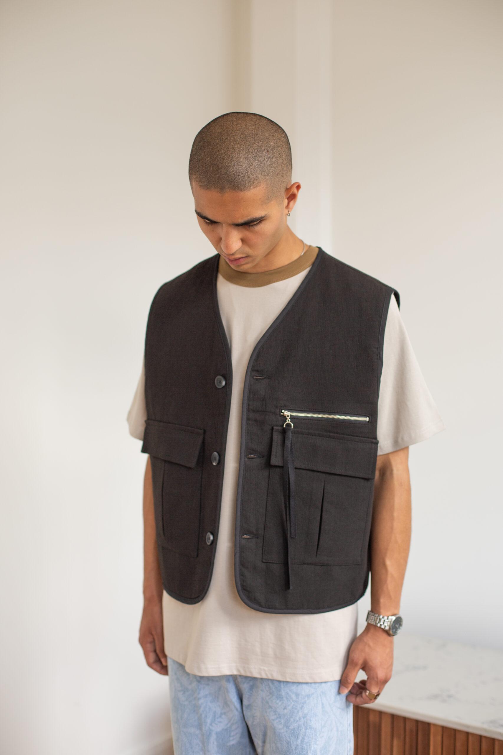 Welldone Pocket Vest by Voo Shop